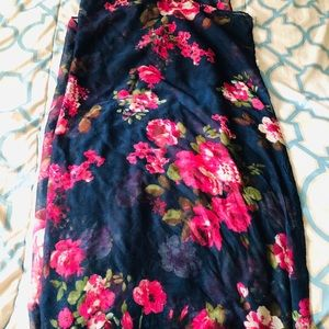 Charlotte Russe floral scarf
